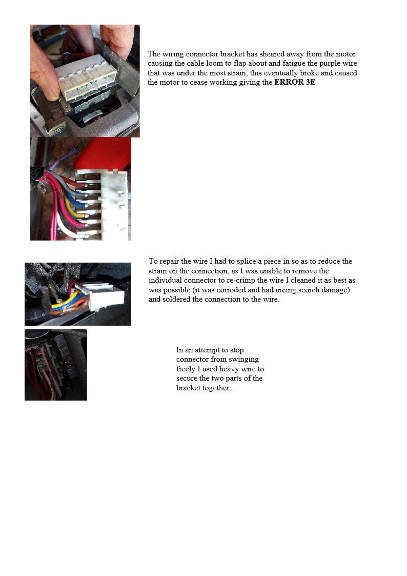 Samsung Sheared Motor Off Plastic Drum Uk Washing Machine Repair Straight A Wiring Ecobubble